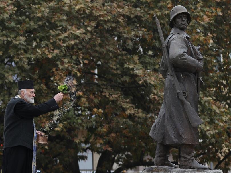 От днес в Плевен има паметник на Девета пехотна Плевенска