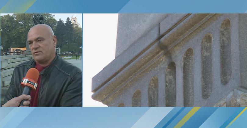 Символът на Русе – Паметникът на Свободата, се нуждае от