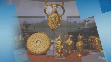 Панагюрското съкровище отново е изложено в Историческия музей в Панагюрище