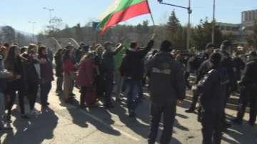 Жителите на Панчарево и Кокаляне протестираха заради честото спиране на тока