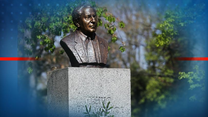 Възстановиха паметника на Панчо Владигеров в Борисовата градина. Поводът за