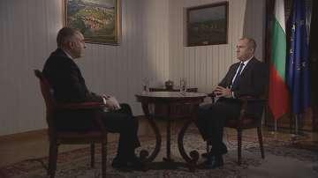 Румен Радев: Всяка партия с визия за България може да разчита на моята подкрепа