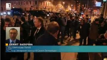 14 са жертвите след взрива в метрото на Санкт Петербург