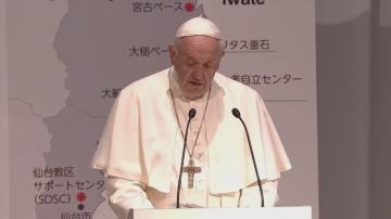Продължава посещението на папа Франциск в Япония