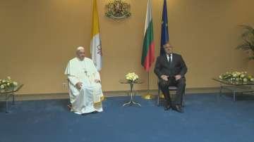 Папа Франциск в България: Благодаря ви за поканата!