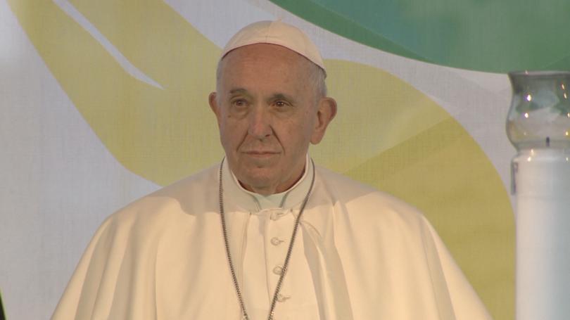 снимка 1 Папа Франциск произнесе Молитва за мир от сърцето на София