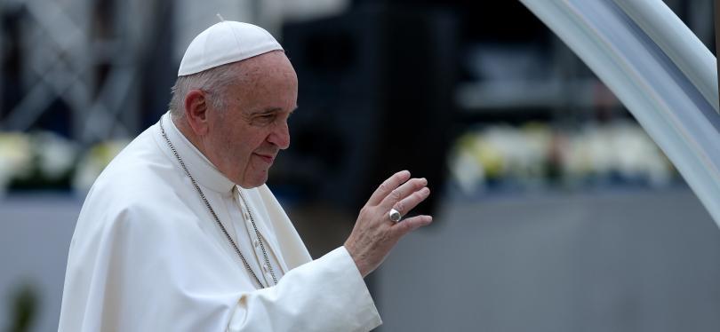 Посещението на папа Франциск у нас през погледа на фоторепортерите
