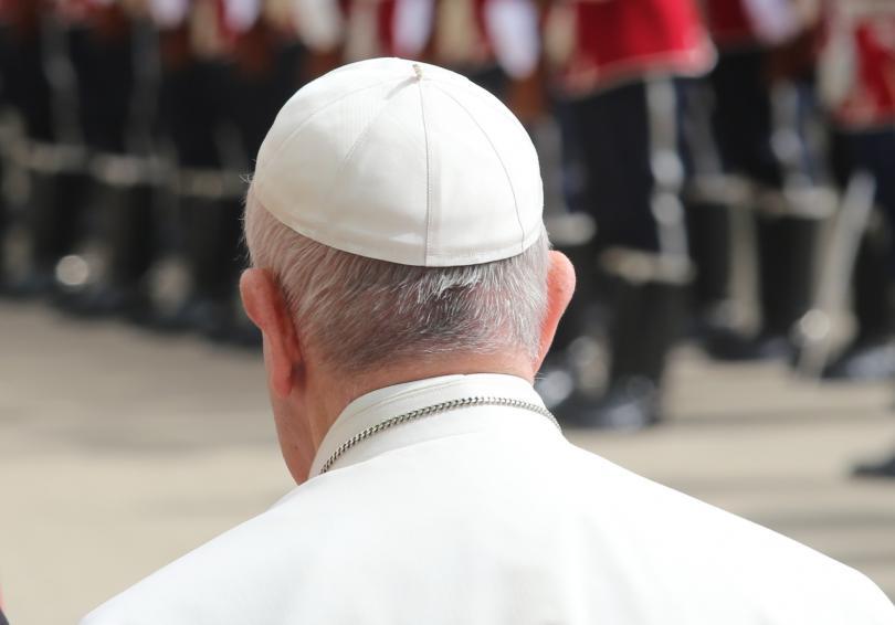 снимка 11 Първият ден от посещението на папа Франциск у нас (СНИМКИ)