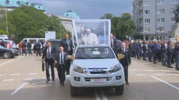 Започва най-голямото събитие от визитата на папа Франциск у нас