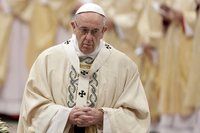 папата призова дипломатическо решение сирия