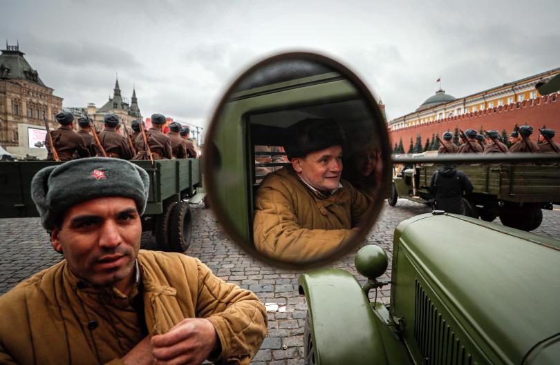 снимка 1 Военен парад в Москва