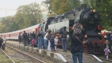 Най-мощният парен локомотив в Европа тръгва към Черепиш