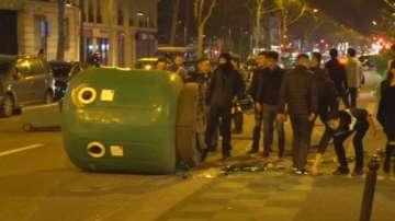 Сблъсъци в Париж заради убийството на китаец