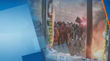 Втори ден продължава общонационална стачка в Париж
