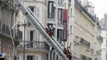 Задържаха психично болна жена за пожара в Париж