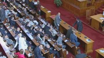 Парламентът не отхвърли ветото на президента