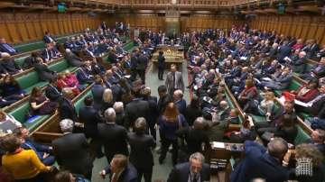 Британският парламент отхвърли новия предложен документ за Брекзит