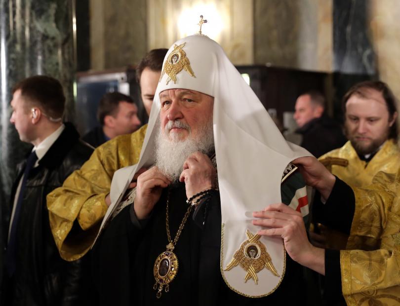 руският патриарх кирил пристигна посещение албания