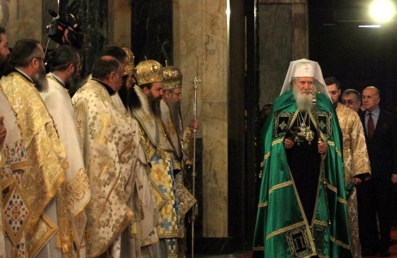 снимка 1 6 години от интронизацията на патриарх Неофит