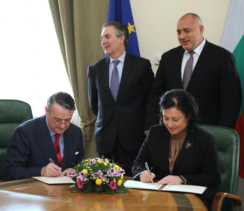 снимка 1 Борисов се срещна с директора на Международната организация по лозата и виното