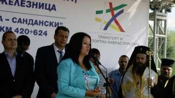 Павлова: Търсим най-доброто решение на АМ Струма през дефилето