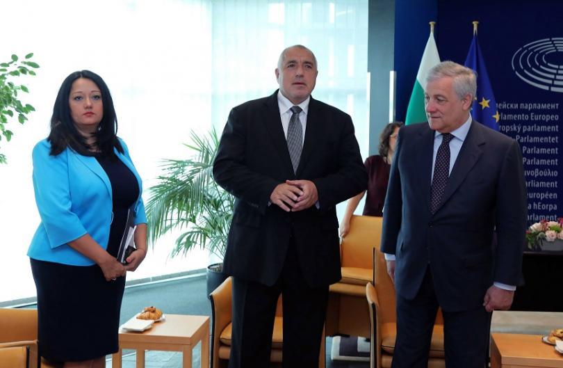 снимка 2 Борисов представи резултатите от Българското европредседателство в Страсбург