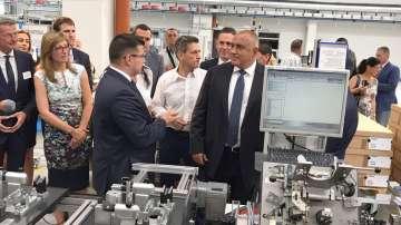 Откриха завод за автомобилни части в Пазарджик