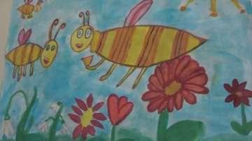 С изложба от детски рисунки в Бургас отбелязаха Деня на Земята