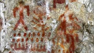 Археолози откриха художествена галерия на 4000 години в Сибир
