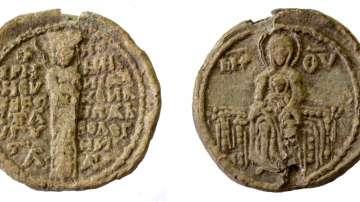 Археолози откриха уникален за България оловен печат край Лютица