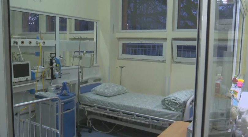 Интензивното отделение в столичната педиатрия отново отвори врати. Припомняме, че