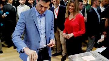 Педро Санчес обяви победа на предсрочните парламентарни избори в Испания