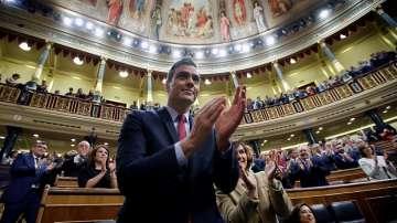 Педро Санчес спечели вот на доверие в Испания и ще оглави коалиционен кабинет