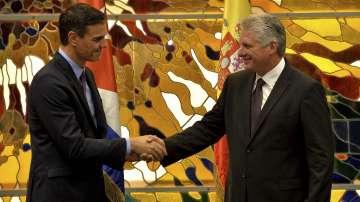 Историческа визита на испанския премиер Педро Санчес в Куба