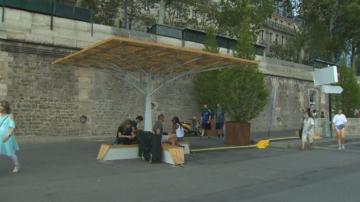 Охлаждащи пейки в Париж