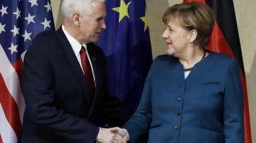 Пенс и Меркел поеха ангажимент за тясно сътрудничество