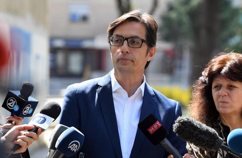 Пред БНТ кандидатът на управляващите за президент в Северна Македония