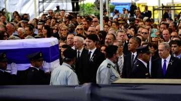 Светът се сбогува с Шимон Перес