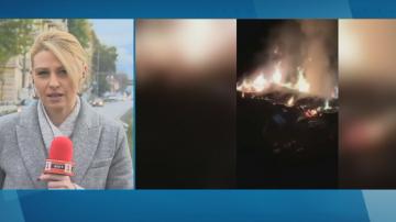 Пушек и миризма от запалени електронни платки обгазиха квартали на Перник