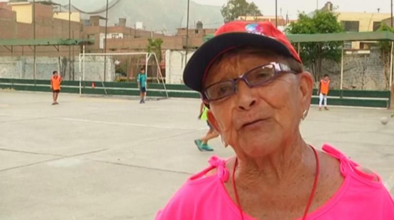 В столицата на Перу Лима живее Мария Анхелика Рамос -