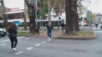 Блъснаха възрастна жена на оживено кръстовище в Пловдив