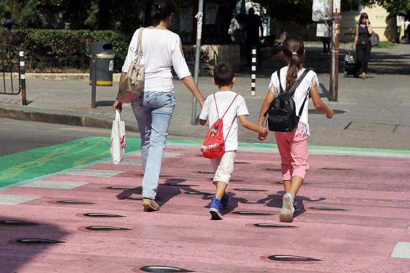 снимка 4 София осъмна с нови цветни пешеходни пътеки (СНИМКИ/ВИДЕО)