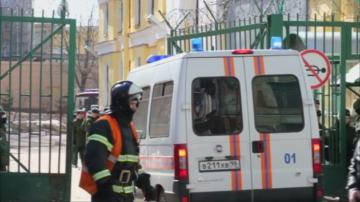 Четирима души бяха ранени при експлозия в Санкт Петербург