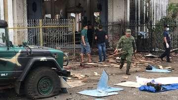Две бомби бяха взривени по време на литургия в католическа църква във Филипините