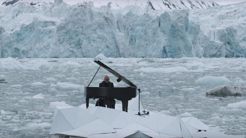С пиано срещу глобалното затопляне