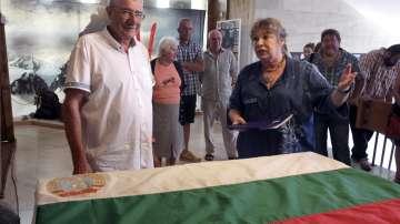 Първото българско знаме от Антарктида вече е в Националния исторически музей