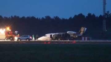 Екипът на певицата Пинк оцеля при авиокатастрофа