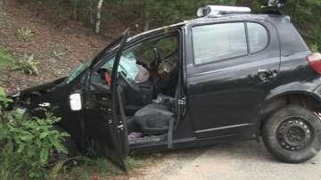 Катастрофа между автомобил и два автобуса между Пирдоп и Антон