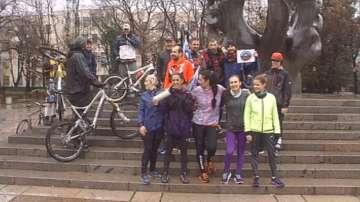 Щафетното бягане в защита на парк Пирин днес премина през Асеновград и Пловдив