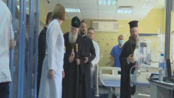 Софийската митрополия дари апаратура за детската реанимация в Пирогов